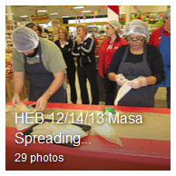 HEB Masa Spreading Contest